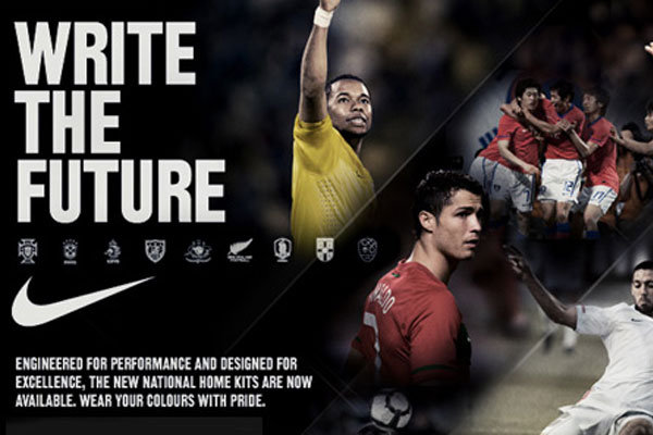 Nike S Write The Future With Cristiano Ronaldo Soccer Commercials